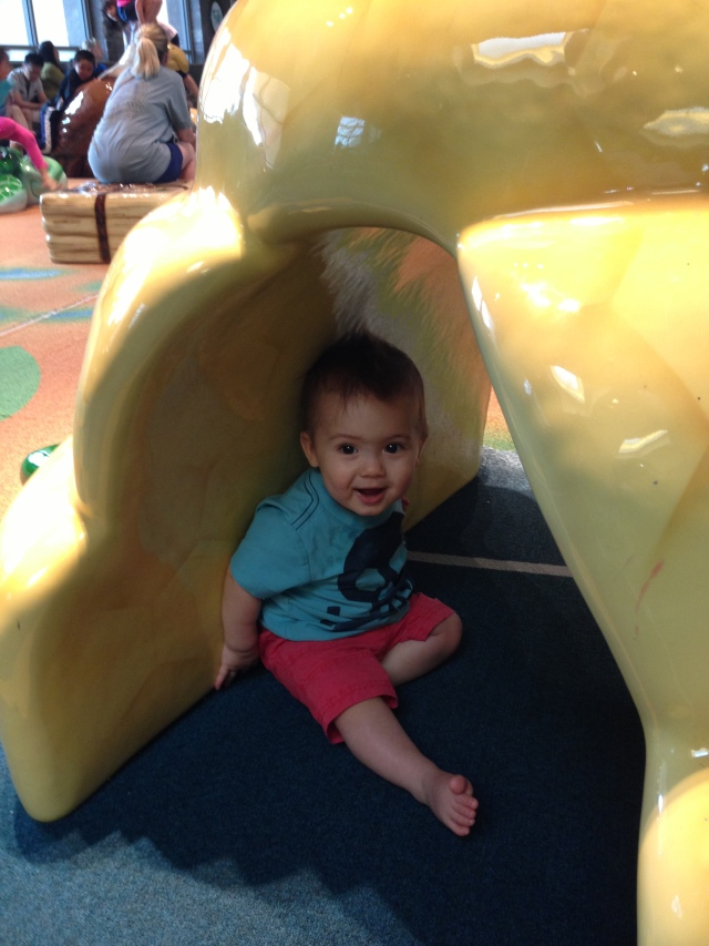 I got to go play in the Tysons play area today!