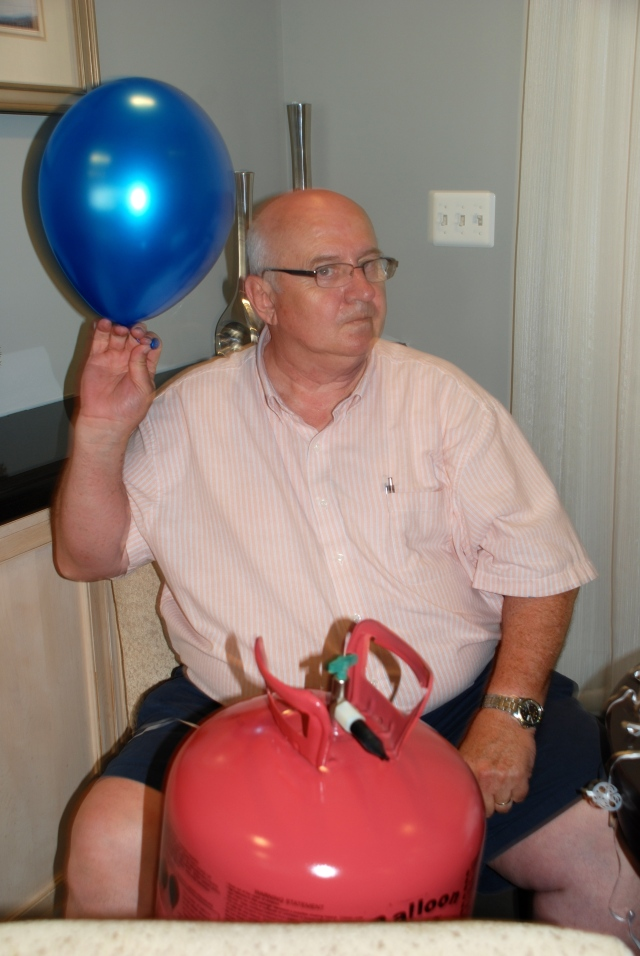 Our Balloon Maker...aka Papa!