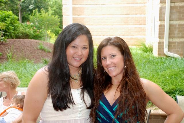 Mama and Rachel!